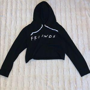 Friends cropped hoodie